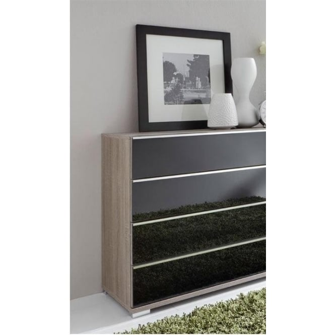 Wiemann Loft 4 Drawer Bedroom Chest of Drawers at Smiths The Rink