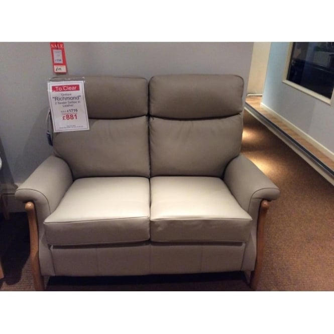 Marvelous Cintique Richmond 2 Seater Leather Sofa Clearance Beutiful Home Inspiration Xortanetmahrainfo