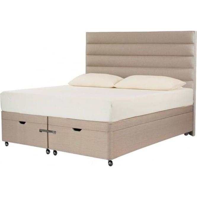 Tempur moulton double ottoman divan bed at the best price for The best divan beds