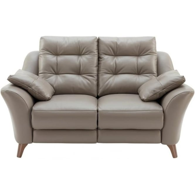 G Plan Pip 2 Seater Leather Sofa