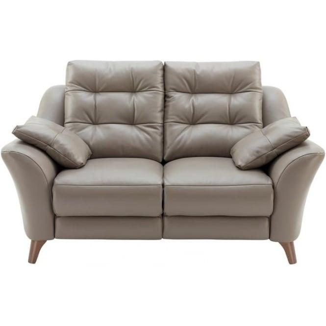G Plan Pip 2 Seater Leather Sofa