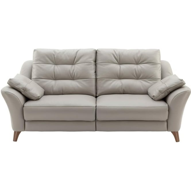 G Plan Pip 3 Seater Sofa in Leather at Smiths The Rink Harrogate