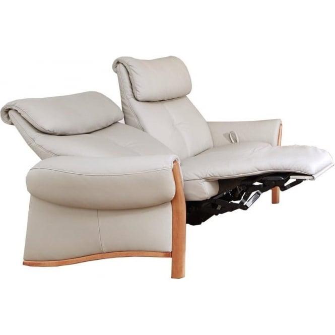 Himolla Cumuly Universe 44 Seater Manual Recliner Sofa - Wooden Arms | furniture universe uk