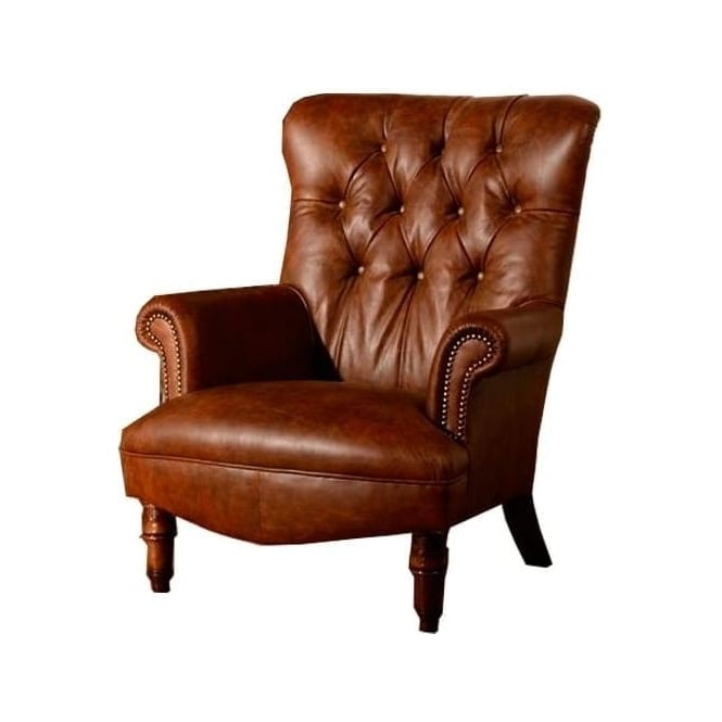 Fabulous Calvay Armchair In Leather Ncnpc Chair Design For Home Ncnpcorg