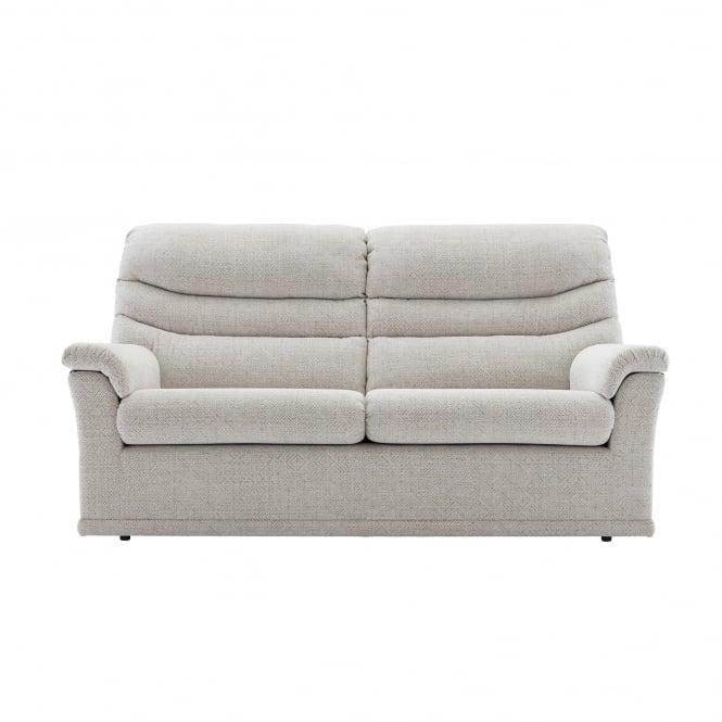 G Plan Malvern 3 Seater Sofa in Fabric - 2 Seat Cushion Version
