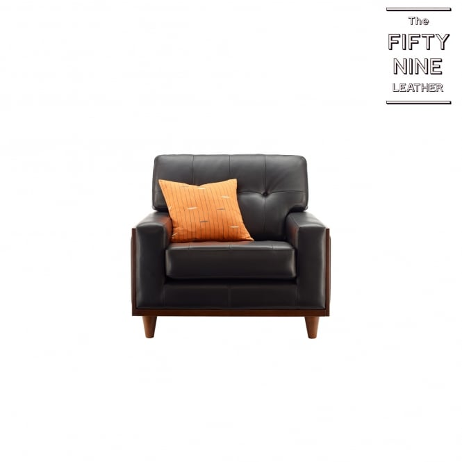 G Plan Vintage Fifty Nine Leather Armchair at Smiths The Rink