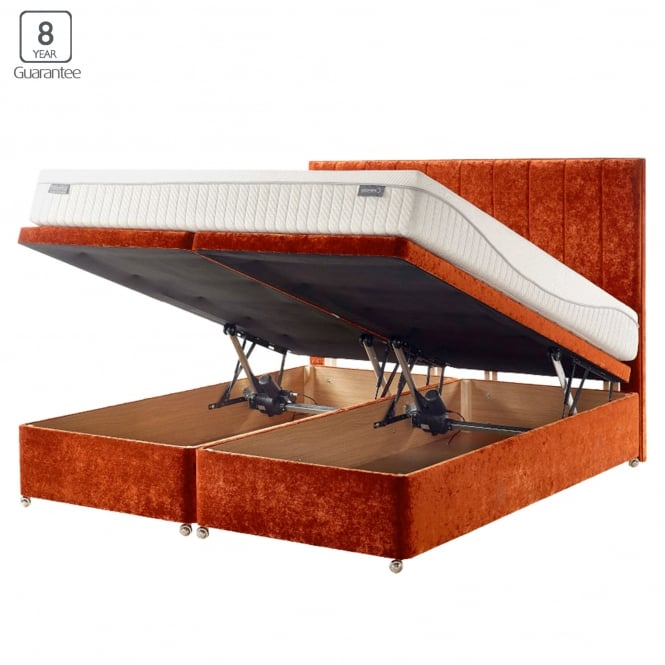Ottomans Sherborne Ottoman Large: Dunlopillo Electric Opening Ottoman Bed At Smiths The Rink