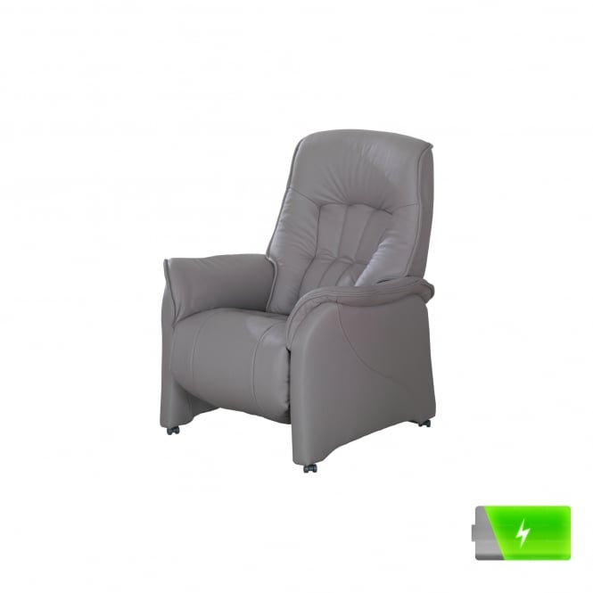 Attractive Rhine Large Electric Reclining Armchair With Storage Battery
