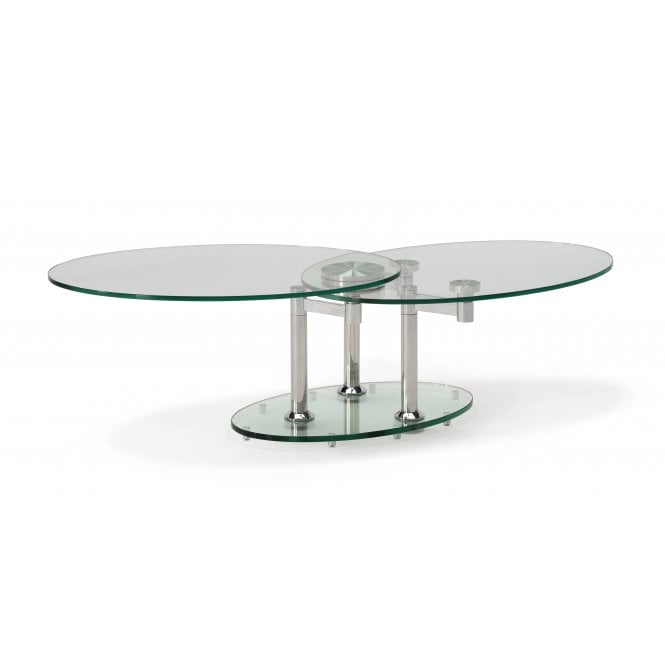 Kesterport Fusion Glass Coffee Table