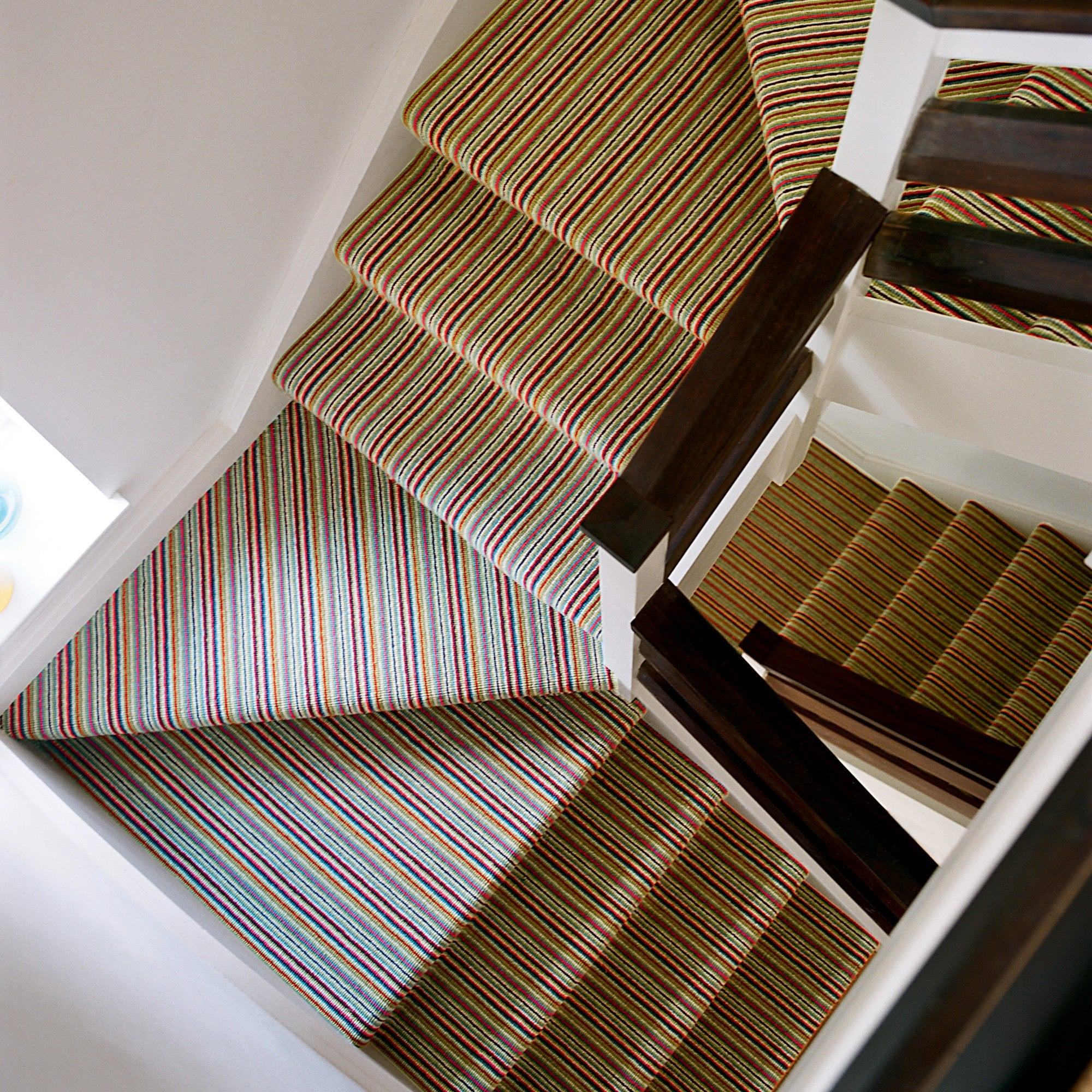 Price For Striped Carpet Hall Stairs Landing By Smiths The Rink